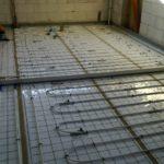 Rúrka z plast-hliníku pre podlahové kúrenie, uchytenie sponami, rodinný dom, Zdoba